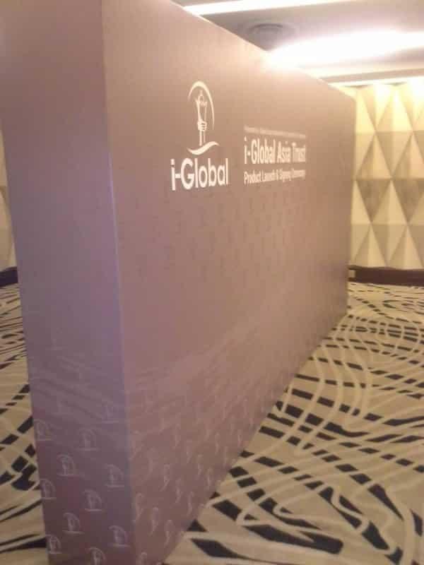 i-global photo booth 4 x 2.5m