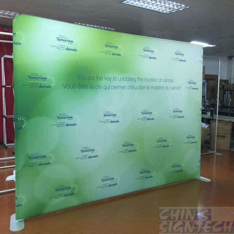 10ft photo booth Fabric Backdrop