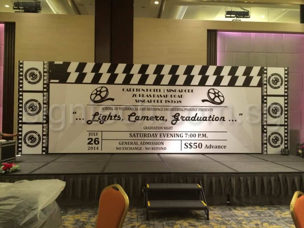 24 x 10ft standing backdrop