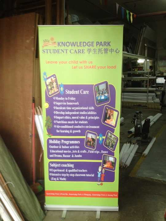 2 x 0.85m Pull Up banner