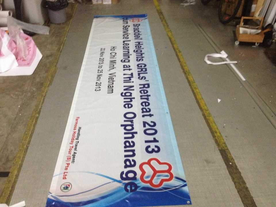 Cloth Banner Printing for oversea
