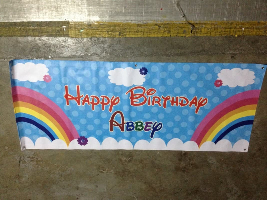PVC Banner with eyelets