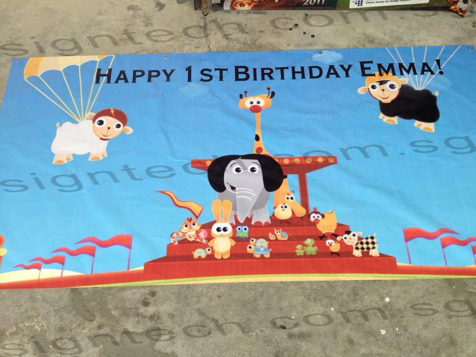 Babt TV birthday banner