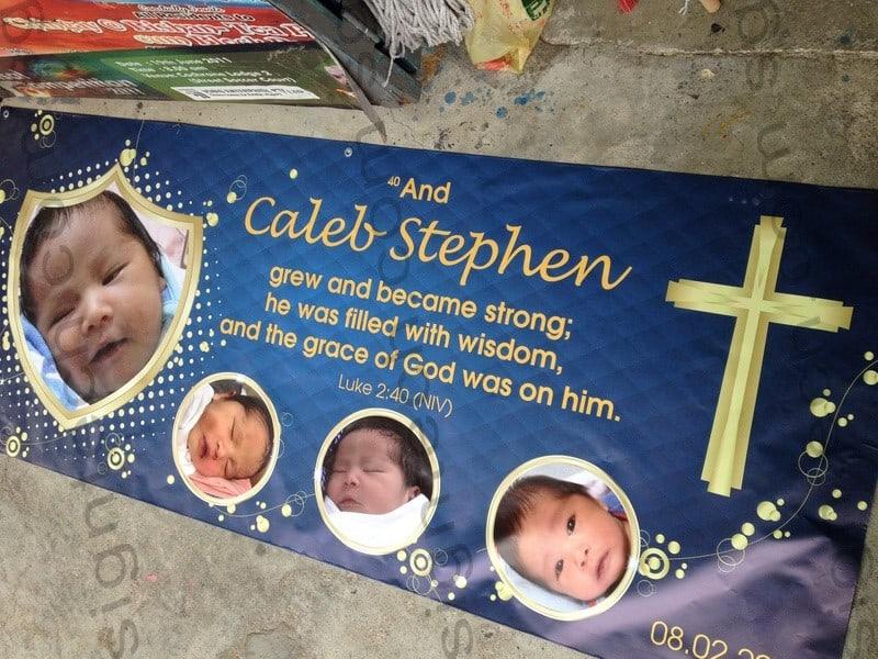 stephen birthday banner