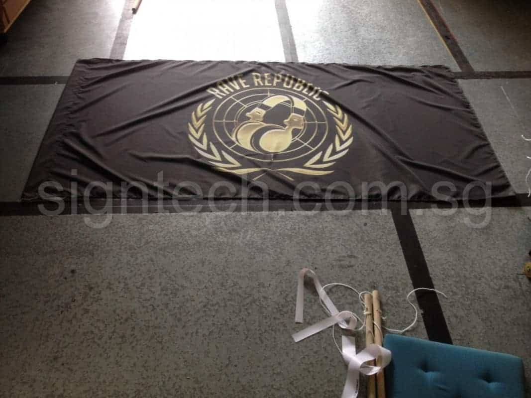 custom Fabric printing for flag